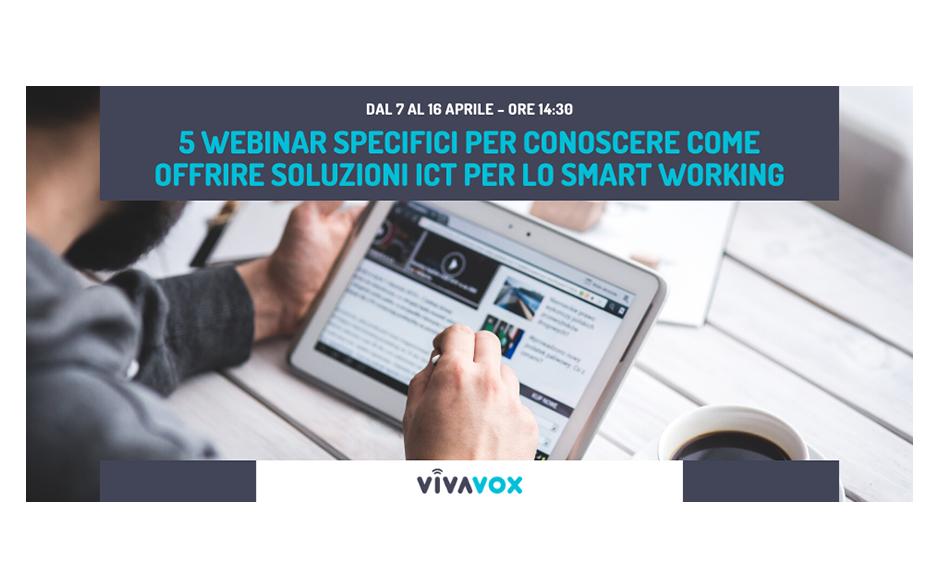 5 Webinar per scoprire le soluzioni ICT per lo Smart Working